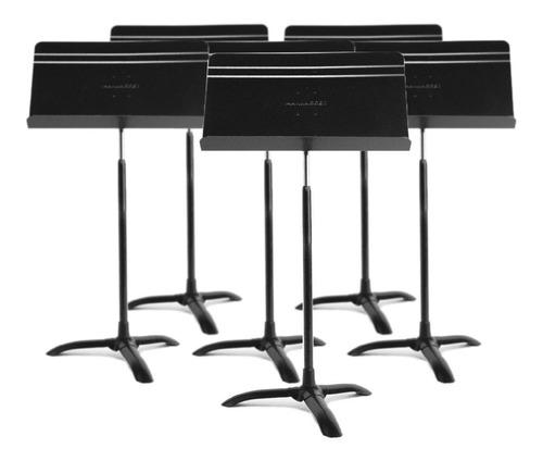 juego de 6 stands atril para partitura  manhasset symphony