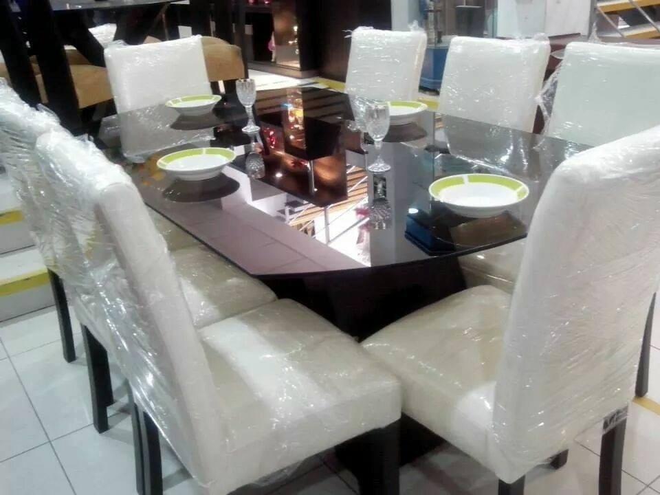 Juego de 8 sillas tapizados en acabado parafinico 1800 for Fabricantes sillas peru