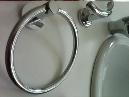 juego de accesorios para baño premium 7 piezas.