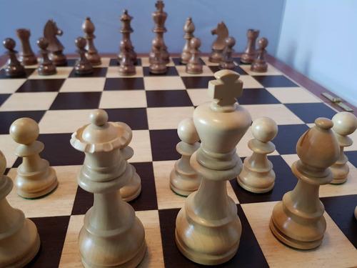 juego de ajedrez india max - rey de 11.5 con tablero premium