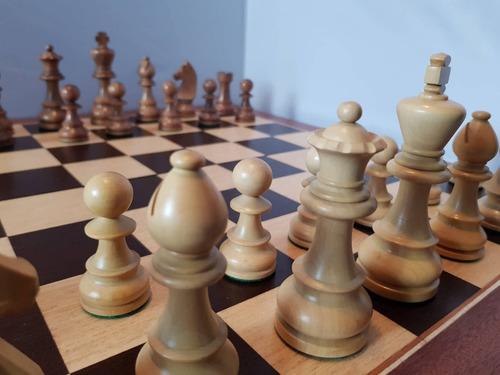 juego de ajedrez india max - rey de 11.5 sin tablero premium