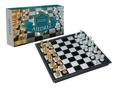 juego  de ajedrez magnético clásico