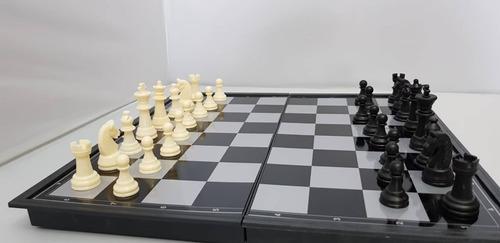 juego de ajedrez magnetico deluxe - piezas grandes