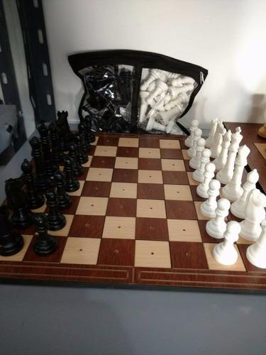 juego de ajedrez para no videntes 40 x 40