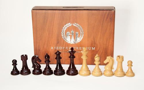 juego de ajedrez profesional  staunton mamut triple plomada