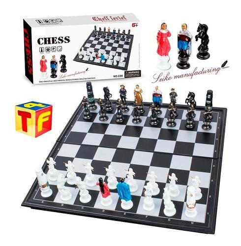 juego de ajedrez profesional tablero magnético 30x30 encadia