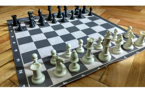 juego de ajedrez profesional tipo staunton sin tablero