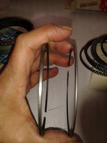 juego de anillos caribe 2000 año 83/86. anillo fino