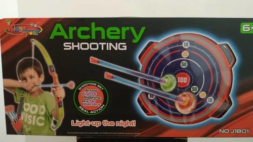 juego de arco y diana archery shooting
