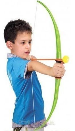 juego de arco y flecha juguete shoting 3+ kings sport