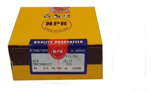 juego de aros kia j2 k-2700 94.5 npr japón original legitimo
