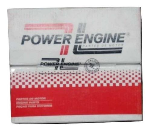 juego de aros p/ rover 216-416 1.6 16v 80mm (power cromo)