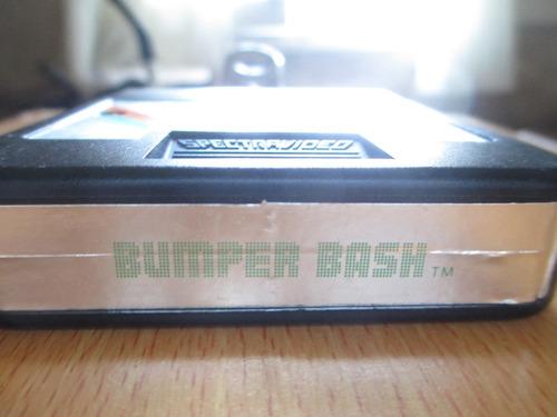 juego de atari 2600 - bumper bash - super raro