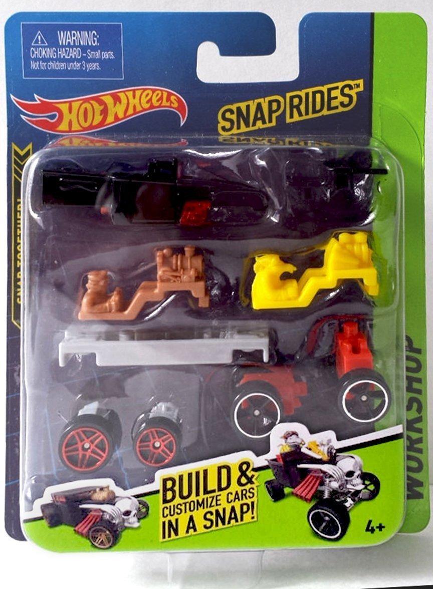 Juego De Auto Personalizado Snap Rides Team Hot Wheels Bo