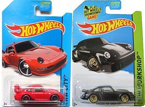 Juego De Autos Porsche Classic Hot Wheels Hw City Workshop