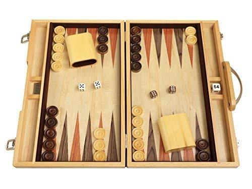 Juego De Backgammon Juego De Mesa De 15 Madera De Olivo 4 053 00
