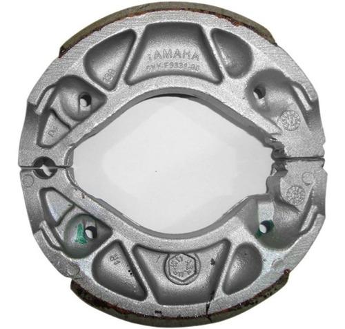 juego de balatas tambor traseras originales yamaha fz sz ybr