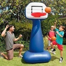 juego  de baloncesto inflable-basketball pitch - intex