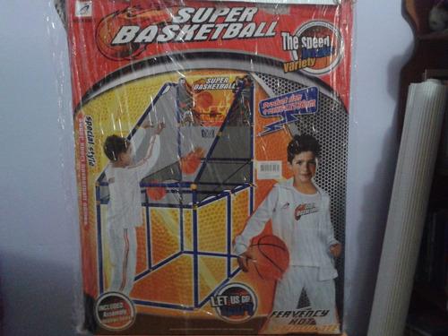 juego de baloncesto super basketball infantil (nuevo)