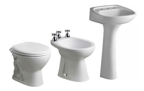 juego de baño ferrum andina inodoro bidet lavatorio