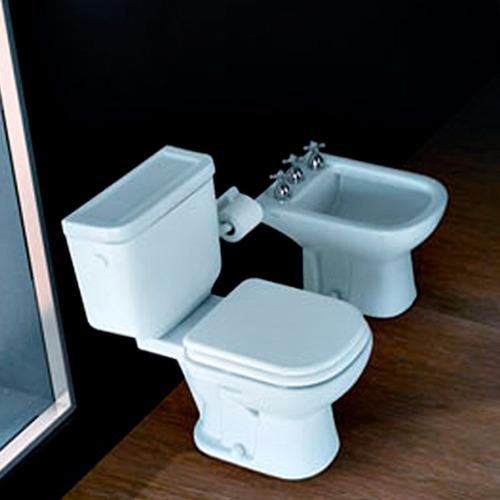 juego de baño ferrum bari 1 agujero (inodoro+deposito+bidet)