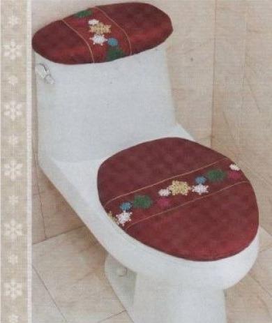 juego de baño navideño bordado navidad vianney