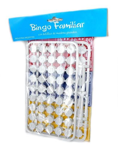 juego de bingo familiar economico fichas de calidad loteria
