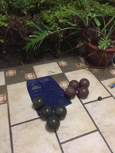 juego de bolas criollas profesional marca  faboca