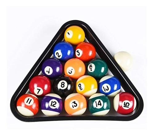 juego de bolas de billar con precisión 16 bolas t&r sports