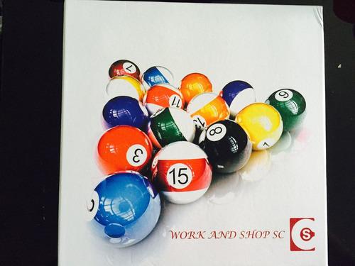 juego de bolas de billar pool. alta calidad