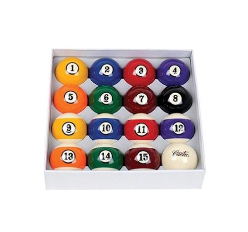 juego de bolas de billar regulación deluxe + envío gratis