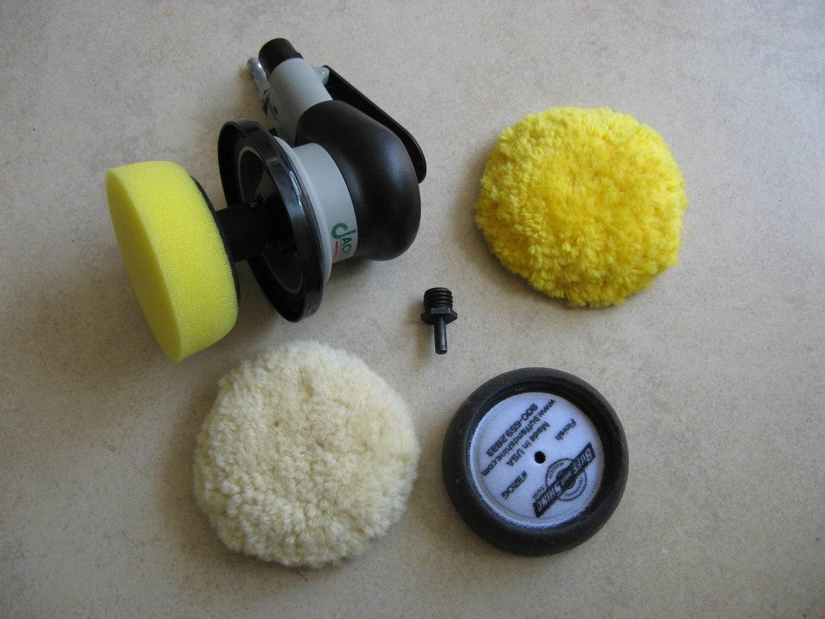 Juego de borlas y esponjas para pulir de 3 pulgadas p - Pulimento para faros ...