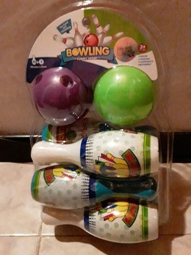 juego de bowling para niños, nuevo.