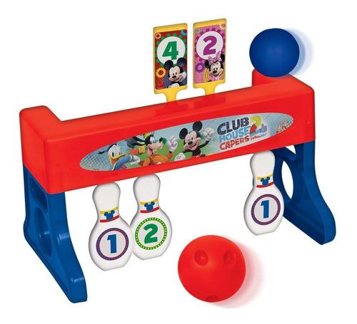 juego de bowling tiro al blanco mickey club house ditoys