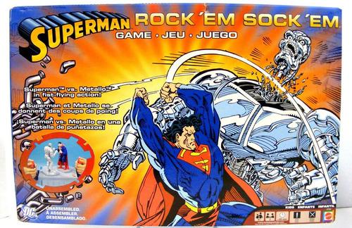 juego de box superman vs metallo