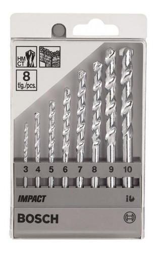 juego de brocas p/muro cyl-1 8und bosch 2608590091