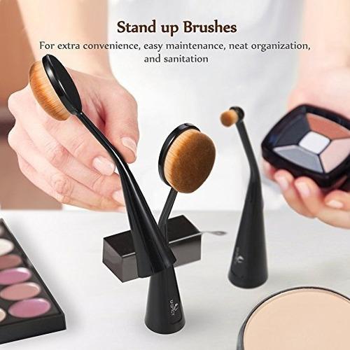 juego de brochas de maquillaje uspicy, 5 unidades