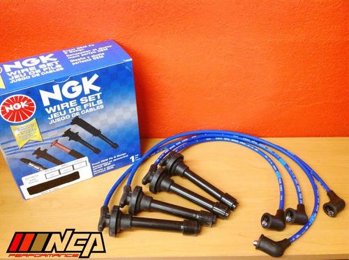 juego de cables bujías ngk alto desempeño honda civic 88-00