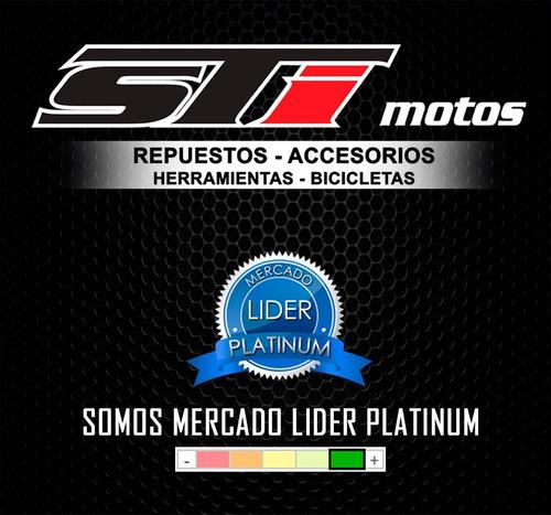 juego de cachas laterales honda / motomel cg 150 - sti motos