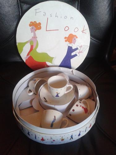 juego de café, 12 piezas, nuevo, impecable, caja original.