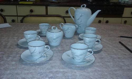 juego de café completo - porcelana