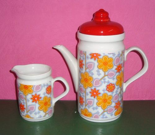 juego de cafe en ceramica ancers para 3 personas