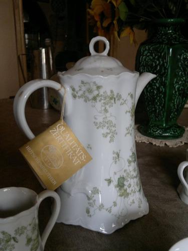 juego de café porcelana alemana rosenthal 26 piezas
