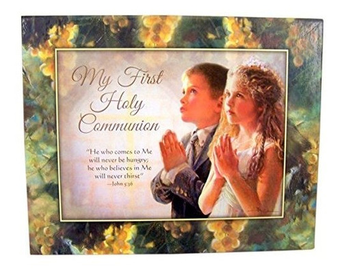 juego de caja de regalo first communion girls deluxe kit con