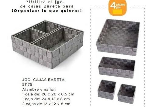 juego de cajas bareta biasi 19 hv 51175 alambre y nailon