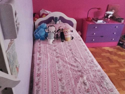 juego de cama con cajonera