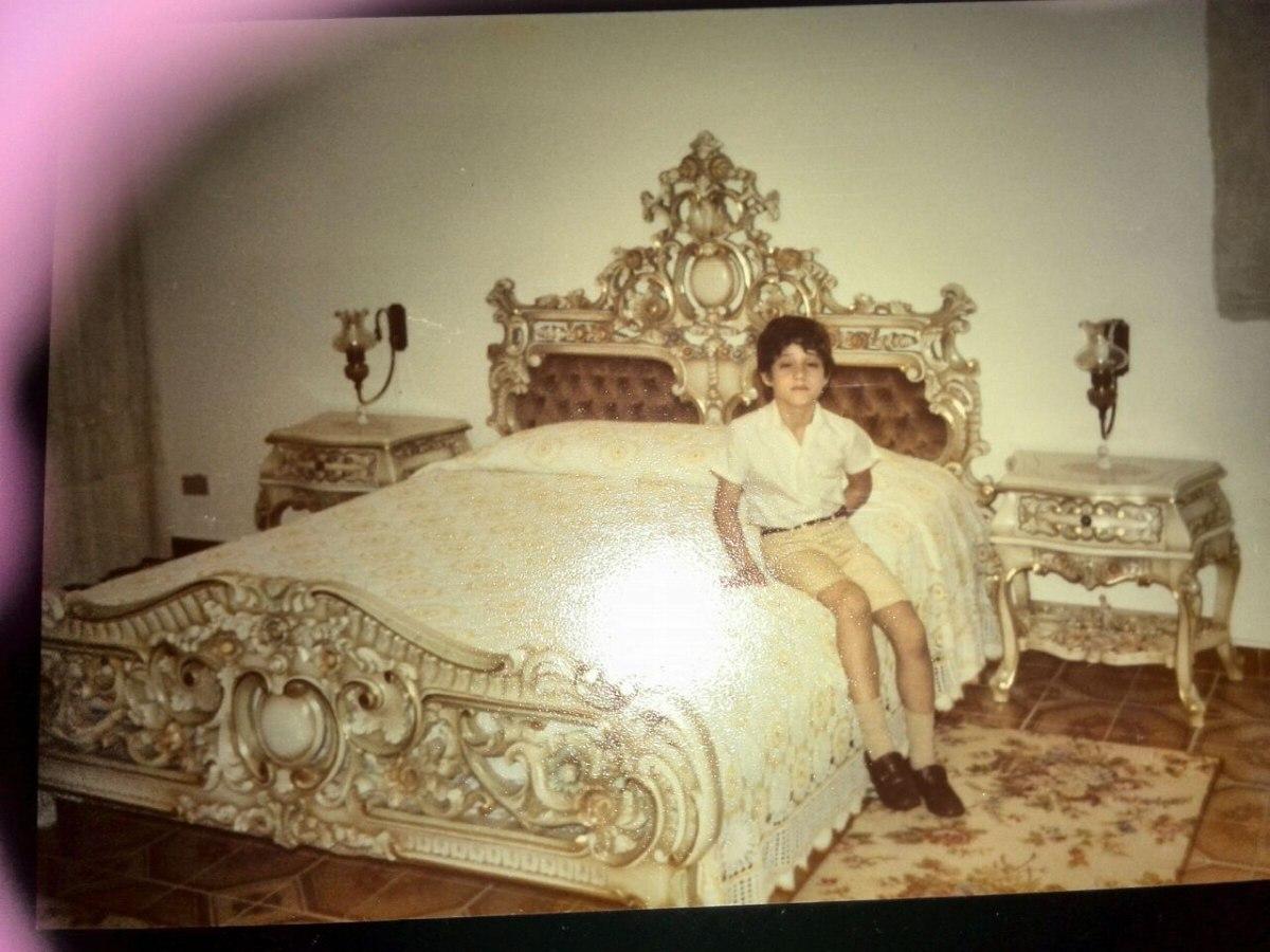 Juego de cama matrimonial estilo luis xv bs for Cama luis xv