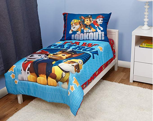 juego de cama sabanas cobertoe fundas paw patrol