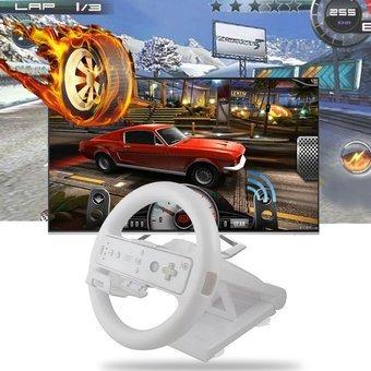 juego de carreras volantes racing wheel manilla para wii mar