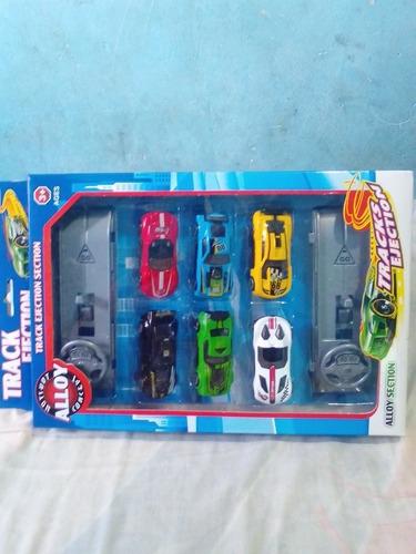 juego de carros track ejection